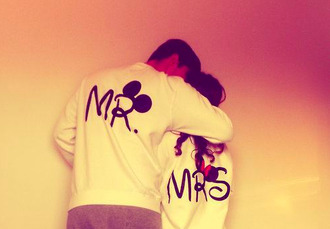 sweater se disney jumper white sweatshirt mr. mrs. mickey mouse mini mouse white mickey minnie black minnie mouse pink by victorias secret clothes guys girl shirt couple pullover couple sweaters matching couples black mrs mr mickey mouse minnie sweater lovely mickey mouse sweater cute love more coat miney mouse oversized sweater hoodie mr and mrs jacket blouse cotton mrs.  minnie and mr. mickeyy disney sweater walt disney sweet love is in the air true love