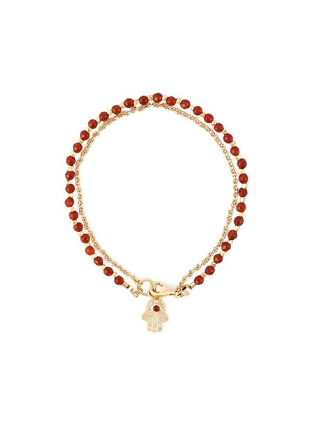 Astley Clarke women gold red jewels