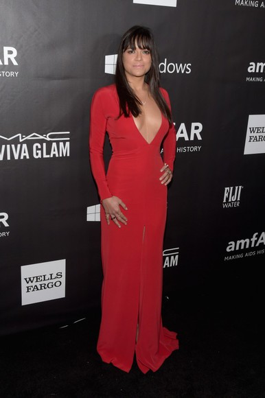 red dress dress prom dress red gown maxi dress michelle rodriguez