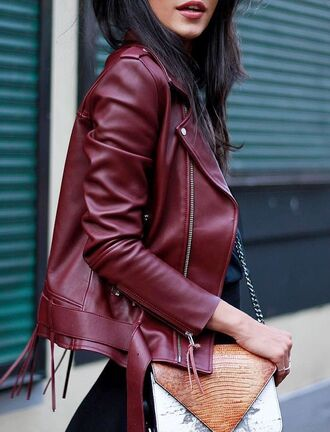 jacket iro burgundy burgundy jacket leather jacket leather perfecto winter jacket fall jacket