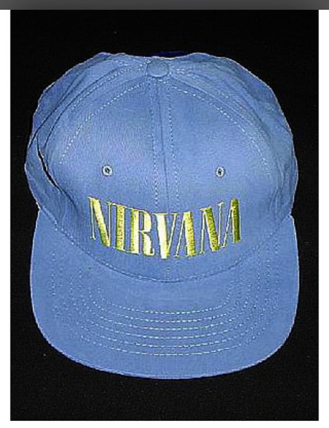 hat nirvana blue hat