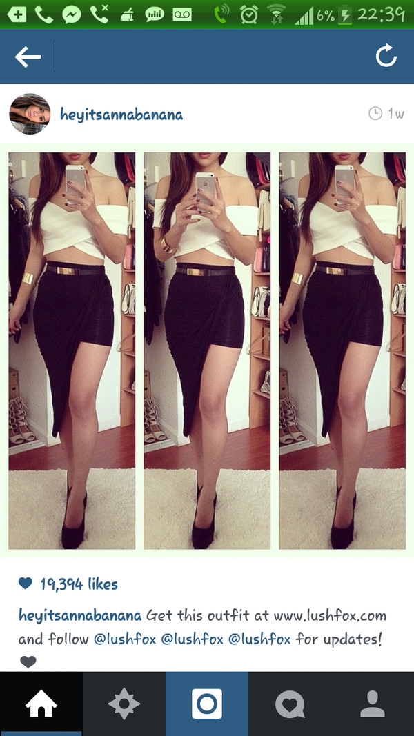 blouse white crop tops crop tops off the shoulder off shoulder crop top cute outfits skirt