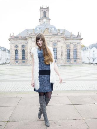 andy sparkles blogger dress jacket shoes jewels