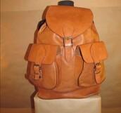 bag,backpack,leather,vintage