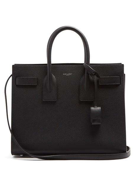 Saint Laurent leather black bag