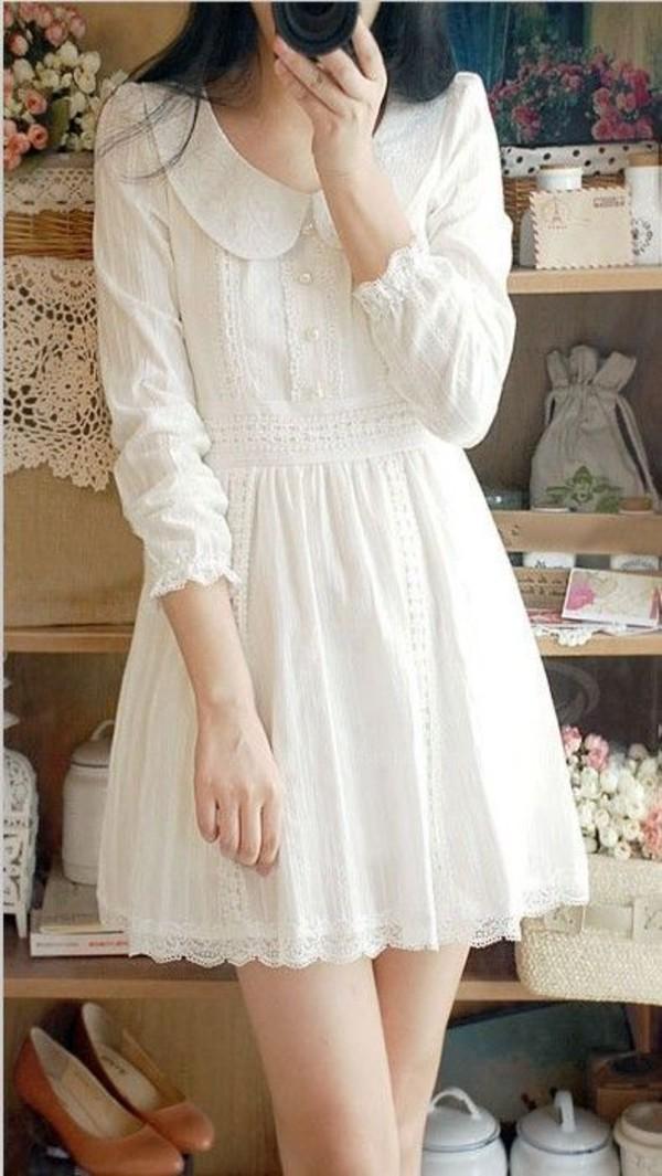 Dress Collar Collared Dress Aliexpress Aliexpress Dress Cute Dress Lolita Dress Casual