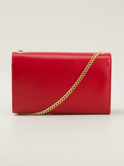 Saint Laurent 'classic Monogramme' Shoulder Bag - Liska - Farfetch.com