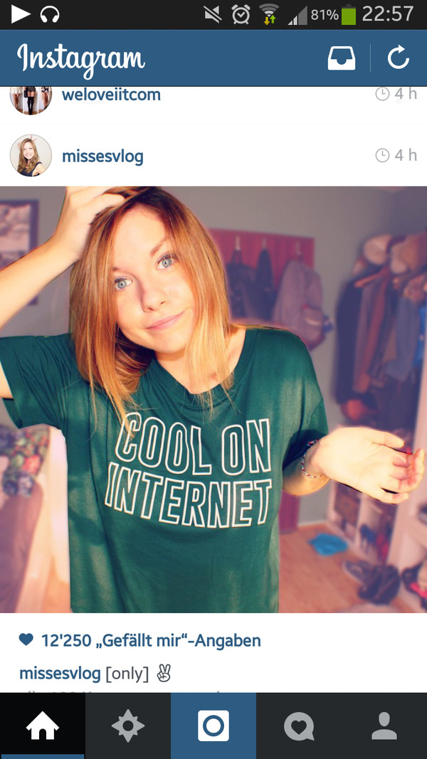 t-shirt cool internet youtuber forest green wifi