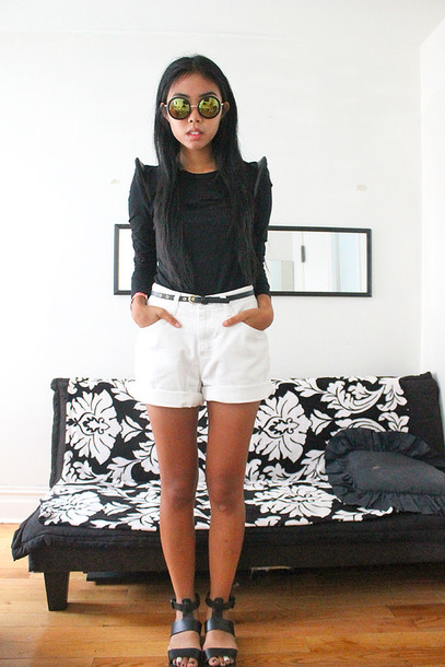 fashion of a novice blogger top shoes sunglasses