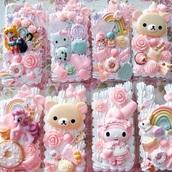 phone cover,iphone,iphone 6 case,cream,horse,beautiful,pink,purple,glitter,instagram,tumblr,rainbow,colorful,white,love