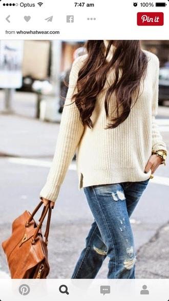 sweater jumper knitted woolen