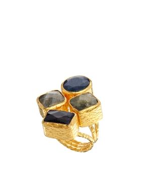 Ottoman Hands | Ottoman Hands – Ring mit vier Steinen bei ASOS