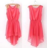 Slim Mini Vest Dress for Casual Wear or Bridemaid - Juicy Wardrobe