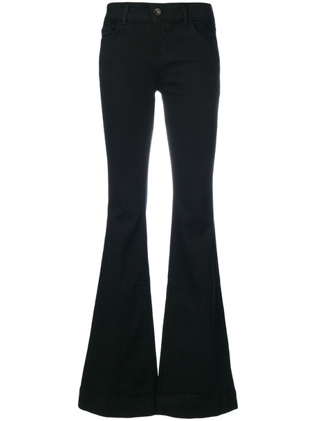 J BRAND pants palazzo pants women spandex cotton black