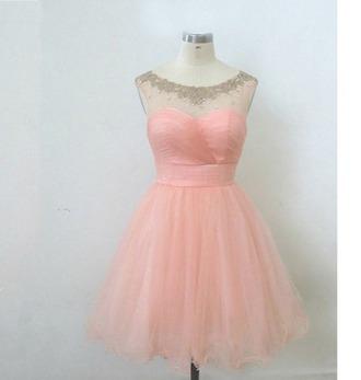dress vintage soft pink