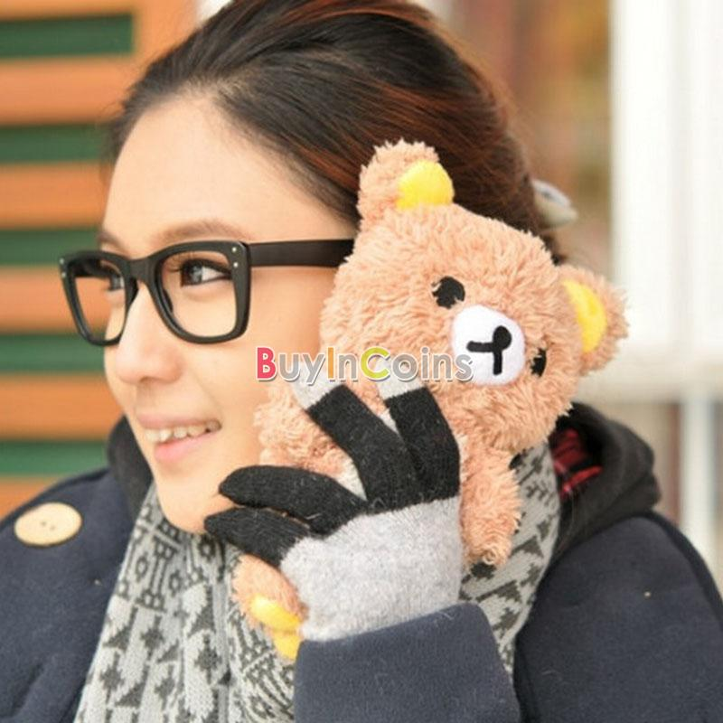 Fleecy 3D Sweet Cute Teddy Bear Doll TOY Plush Phone Case Cover FOR Iphone 4 4s | eBay