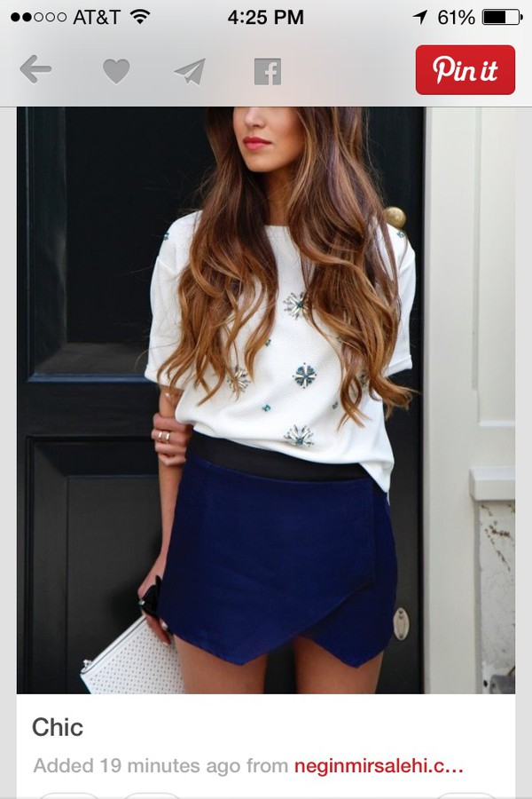 blouse white chiffon top skirt