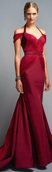 dress,red dress,formal dress,prom dress