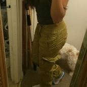 khaki pants,cargo khaki pants,pants,cargo pants