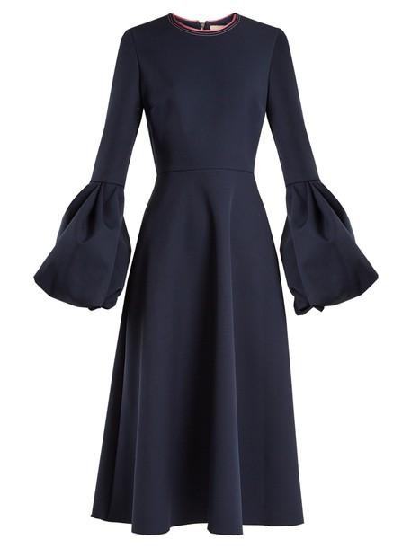 Roksanda dress navy