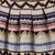 Pink Tribal Print Flare Skirt -SheIn(Sheinside)