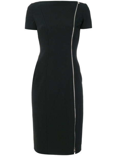 dress bodycon bodycon dress women spandex black wool