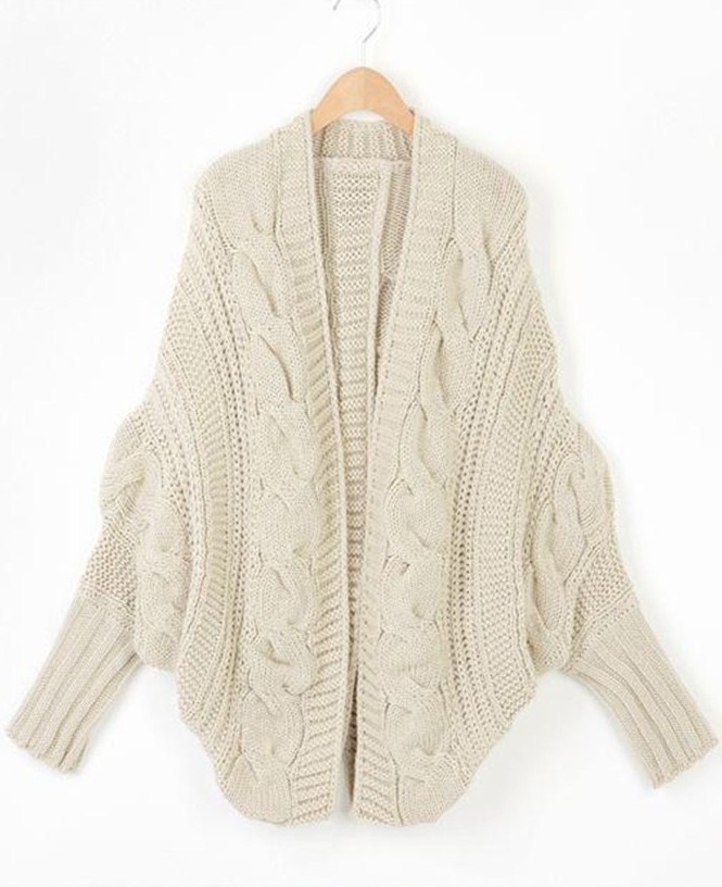 Quilted Down & Knit Cardigan