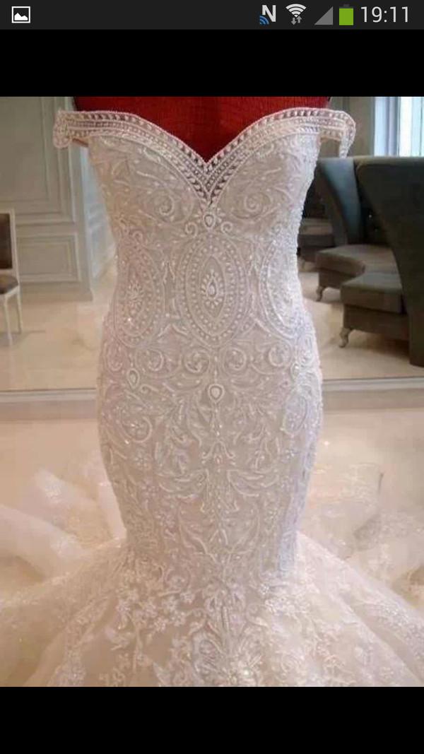 dress mermaid wedding dress vintage wedding dress lace wedding dress wedding dress