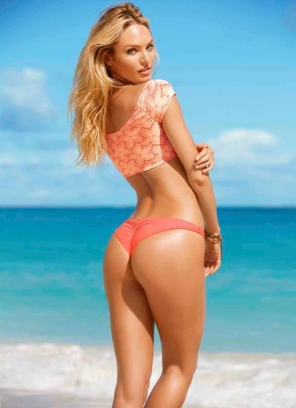 swimwear peach brazilian bikini bottom bikini peach bikini bikini bottoms brazilian bikini orange lace bikini set itsy ruffle bottom