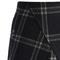 Asymmetric tartan wool-blend bud skirt - retro, indie and unique fashion