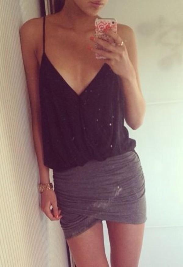 mini skirt summer outfits sun