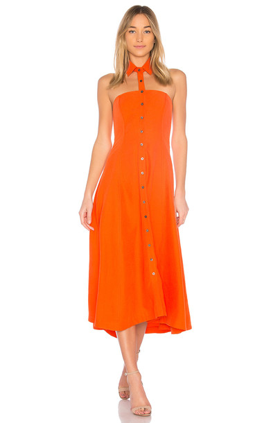 Mara Hoffman dress orange