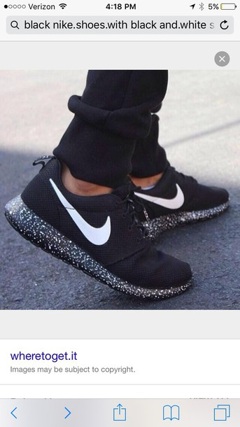 And Running White Wheretoget SolesNike Shoes ShoesBlack qzVpMSU