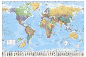 Amazon gb eye world map poster gumiabroncs Gallery