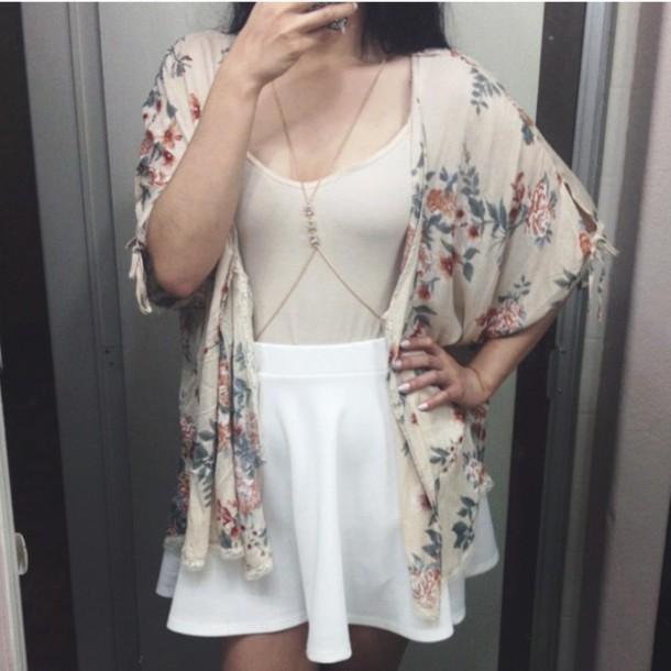 cardigan floral cardigan