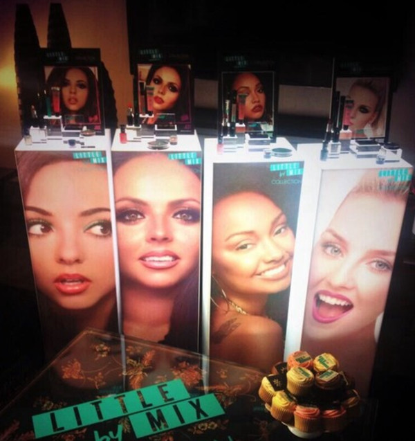 nail polish little mix perrie edwards jade thirlwall leigh-anne pinnock jesy nelson make-up
