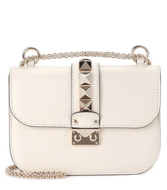 Valentino bag shoulder bag leather white