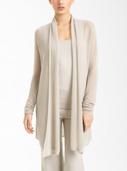 Donna Karan Collection Drape Front Cashmere Cozy