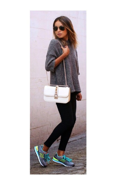 top grey long white soft warm winter outfits
