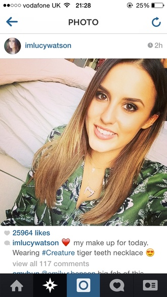 floral blouse lucywatson green madeinchelsea