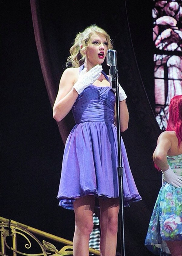 dress purple dress taylor swift
