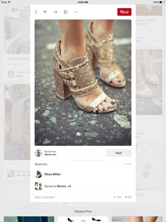 shoes sparkle givenchy heels