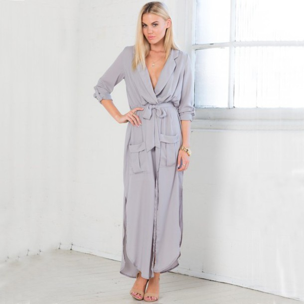 Long Sleeve Maxi Dresses Summer