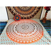 home accessory,tapestry,elephant tapestry,ombre bleach dye,magical night star mandala tapestry