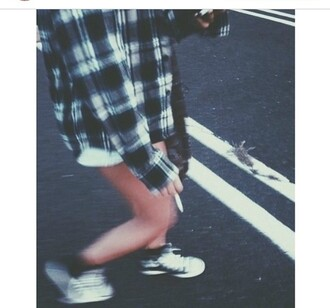 coat check checkered checkers grunge soft grunge