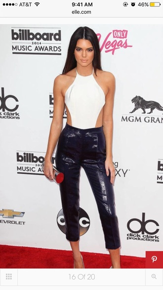 top bodysuit holidays white tank top cut-out kendall jenner white top summer summer top spring outfits party going out