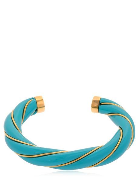AURELIE BIDERMANN Diana Bracelet in turquoise