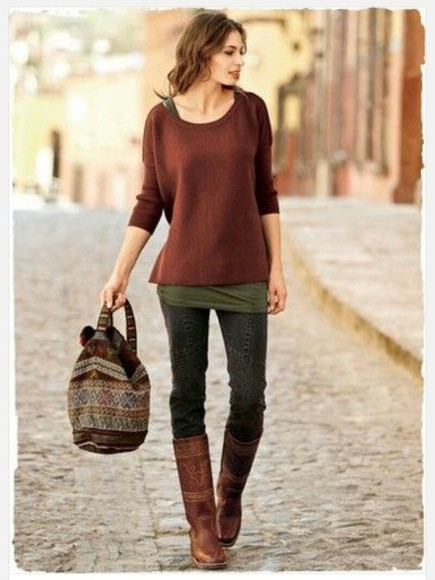 sweater winter fall jumper top