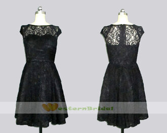 black lace dress lace bridesmaid dress black lace bridesmaid dress mother of the bride dress lace mother of the bride dress knee lengthh lace dress lace top wedding dress