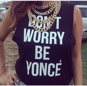 t-shirt,yonce,beyonce,shirt,black and white shirt,black and white,jewels,casual chic,blogger t-shirt,top